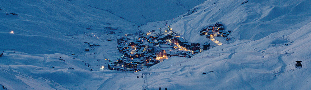 Raumplanung und -Entwicklung für den Winter-Tourismus