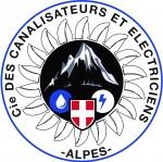 LOGO Cie des Canalisateurs et Electriciens des Alpes