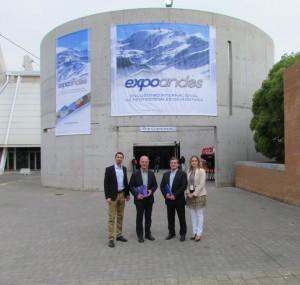 Le Cluster Montagne accompagne la filière à Expo Andes