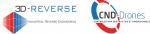 Logo 3D Reverse CND-Drones