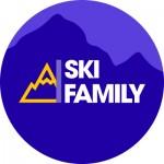 Logo rond ski family