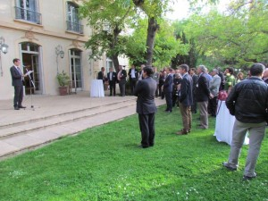 Réception française à l'Ambassade