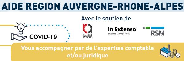 [COVID-19] Aide de la Région Auvergne-Rhône-Alpes