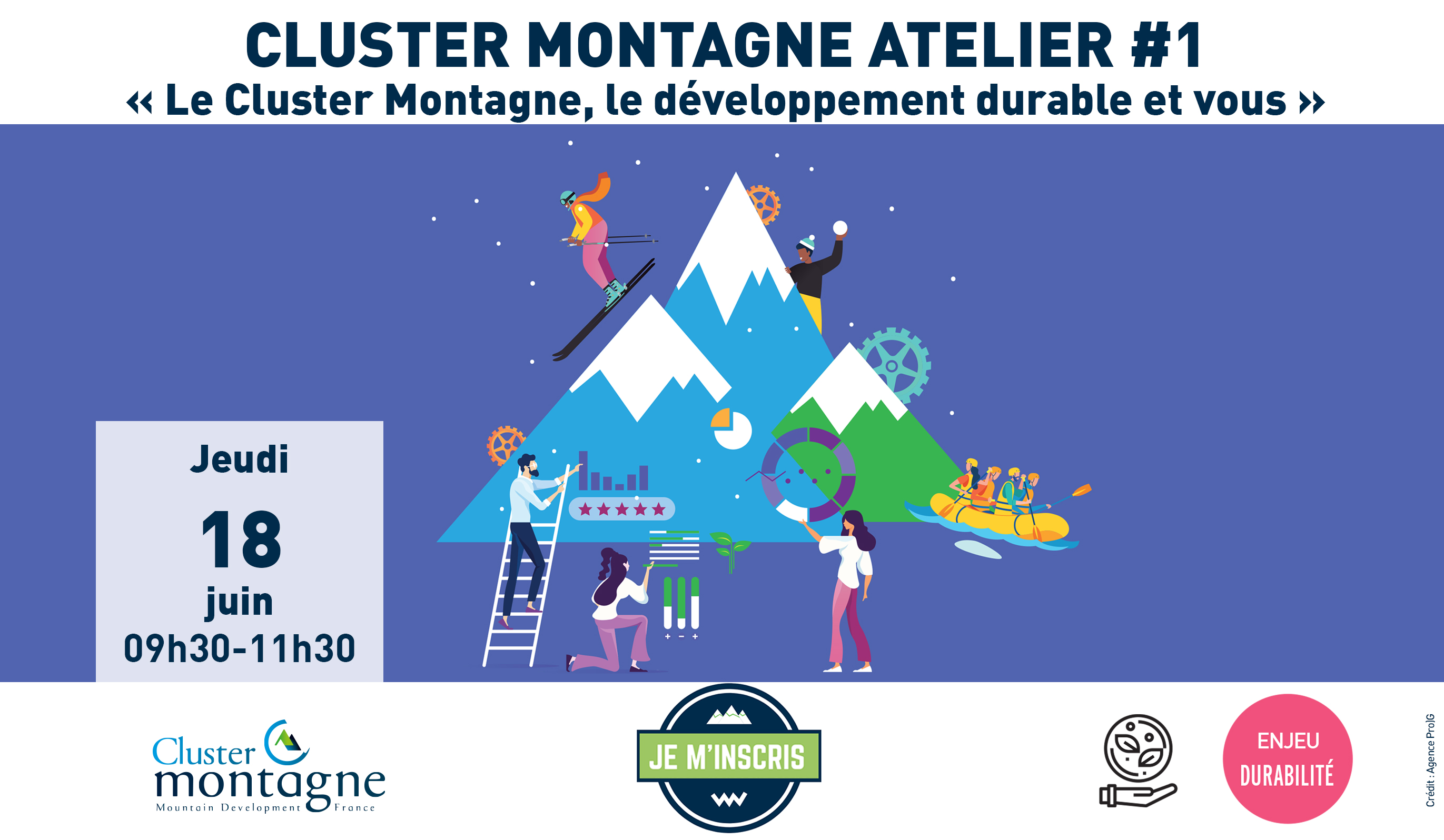 Cluster Montagne Atelier #1 – Développement Durable – 18/06/2020